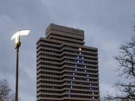 Rathaus im Sternenlicht (Foto: Michael Seyl)