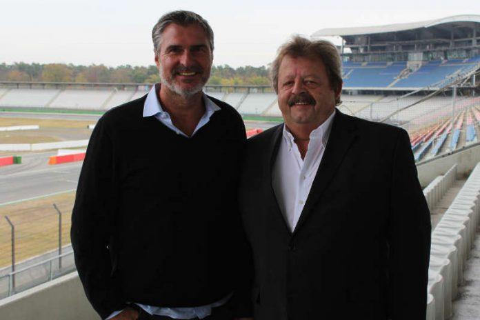 v.l.: Uli Roth und Georg Seiler (Foto: Hockenheim-Ring GmbH)
