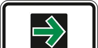 Die Abbildung zeigt den Grünpfeil nur für Radfahrer (Quelle: bast)