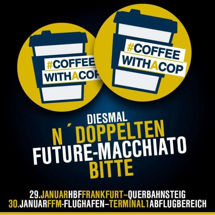 Coffee with a Cop (Quelle: Bundespolizei)