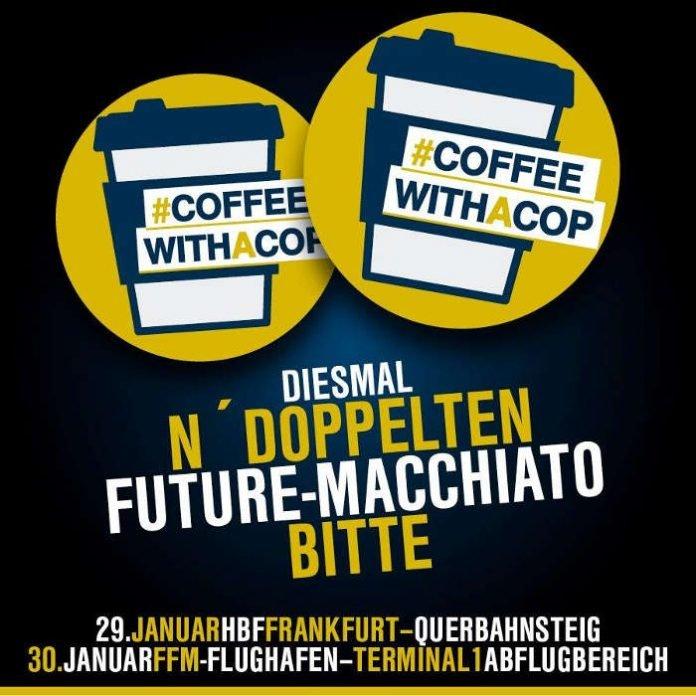 Coffee with a Cop (Quelle: Bundespolizei)