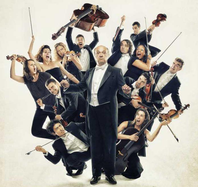 "Bei ""Concerto Scherzetto"" begegnen verrückte Gags berühmten Melodien. (Foto: David Ruano)"