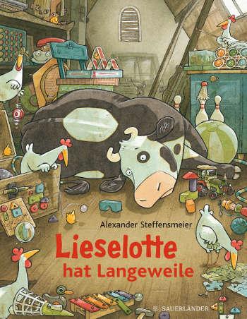 Buchcover Lieselotte hat Langeweile (Quelle: Verlag)