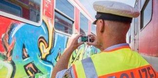 Bundespolizei_Graffiti-am-Zug_Symbolbild