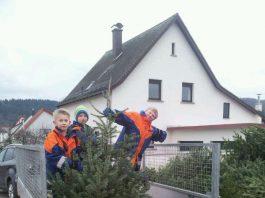 Sammelaktion 2018 im Ortsteil Rippenweier (Foto 2018: Ralf Mittelbach)
