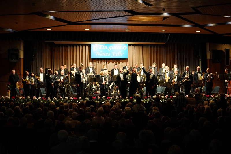 Neuhofen Neujahrskonzert Landespolizeiorchester Rheinland-Pfalz LPO (Foto: Holger Knecht)