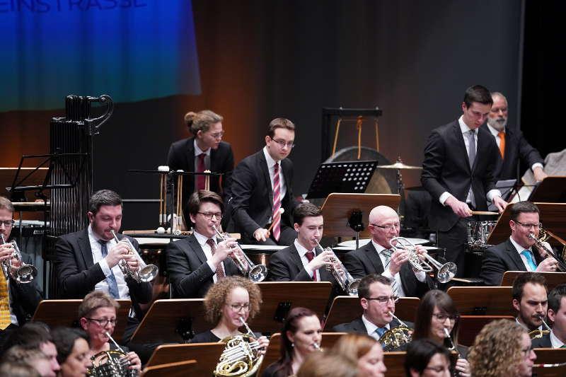 Neustadt Bläserphilharmonie Deutsche Weinstraße 2019 (Foto: Holger Knecht)