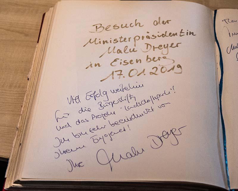 Donnersbergkreis Malu Dreyer Besuch (Foto: Helmut Dell)