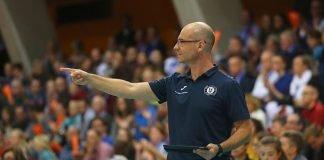 Für das Spiel gegen Stuttgart gesperrt: VCW-Chef-Trainer Dirk Groß (Foto: Detlef Gottwald)