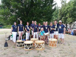 Maracatu-Ensembles des Trommelpalasts (Foto: PR)