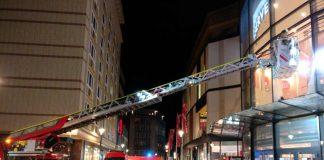 Einsatz an der Shopping Mall (Foto: Feuerwehr Kaiserslautern)