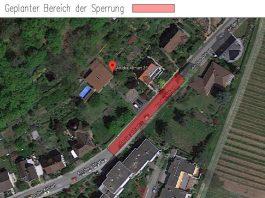 Straßensperrung (Quelle: Stadtverwaltung Neustadt)