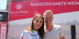 Weltmeisterin und Olympiasiegerin Miriam Welte freut sich über die Wahl zur Sportlerin des Jahres 2018 in Rheinland-Pfalz zusammen mit Pascal Ackermann, der bei den Männern Zweiter wurde. (Foto: Michael Sonnick)