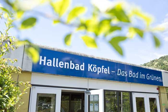 Köpfelbad Eingang - Foto: Stadtwerke Heidelberg