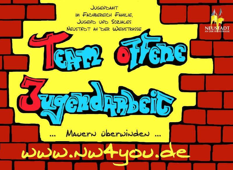 Logo Team offene Jugendarbeit (Foto: Stadtverwaltung Neustadt)