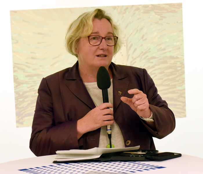 Ministerin informiert sich über Lehrkonzepte an der Hochschule Mannheim - Foto: Hochschule Mannheim