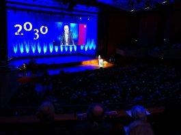 Rede des OB (Quelle: Stadt Mannheim, Bild: Andreas Henn)