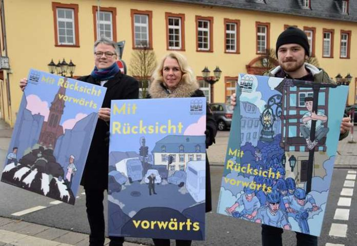 Plakataktion - Foto: Stadt Bad Kreuznach