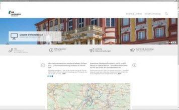 Die neu gestaltete Homepagewww.landratsamt-karlsruhe.de