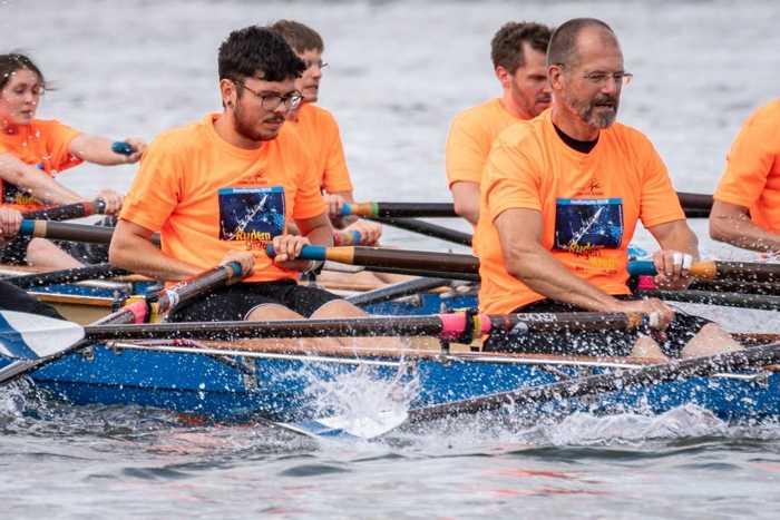 Rudern gegen Krebs Mainz 2018 Rennen