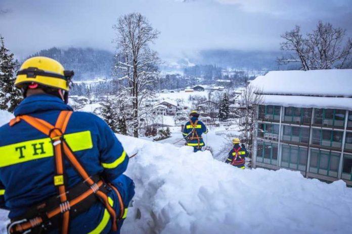 THW-Schneeeinsatz, © Nicole Endres