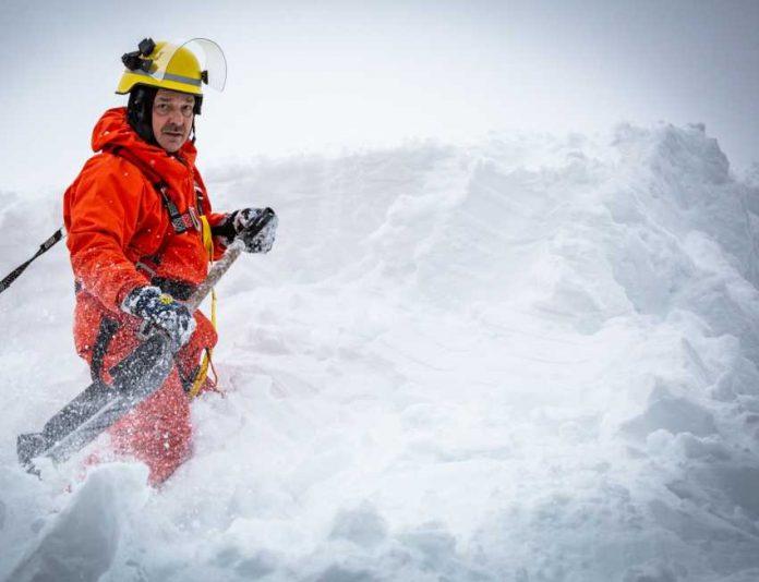 THW: Schnee-Einsatz, Sebastian Birzele