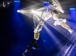 Mannheim Rosengarten Circus on Ice (Foto: Helmut Dell)