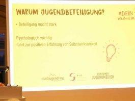 KickOff-Veranstaltung eröffnet stadtweite Workshops des Stadtjugendrings Weinheim zur Jugendbeteiligung in der Stadt und den Ortsteilen – Motto: #DEINWeinheim