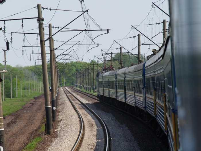 Zugreise Osten Foto: Dr. Müller
