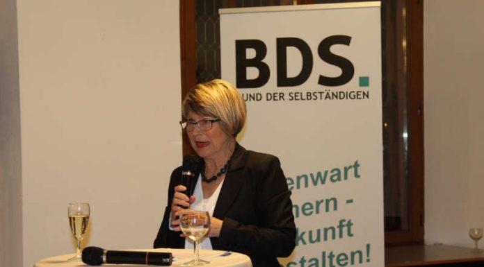 BDS Präsidentin Liliana Gatterer (Foto: BDS)