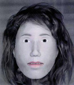 computergestützte Gesichtsweichteilrekonstruktion der unbekannten Toten