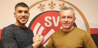 Freuen sich auf die Zusammenarbeit (v. l.): Gökhan Gül und SVWW-Sportdirektor Christian Hock (Foto: svww.de)