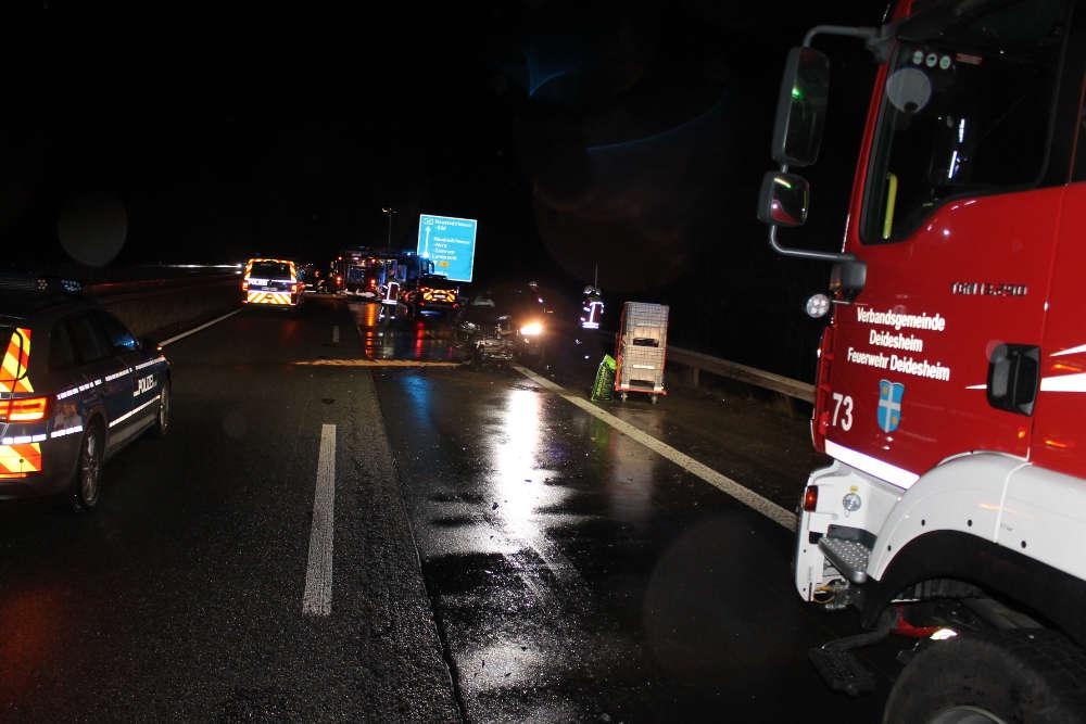 Die Unfallstelle (Foto: Polizei RLP)