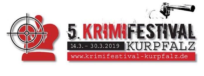 Logo 5. KrimiFestival Kurpfalz