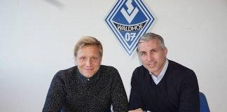 Vertragsverlängerung mit Dorian Diring (Foto: SV Waldhof Mannheim)