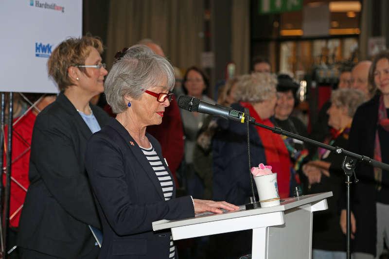 Annerose Lauterwasser, Präsidentin IWC Karlsruhe e.V. (Foto: Klaus Eppele)