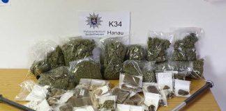 Artikel: Hanauer Kripo setzt Drogenhandel ein vorlaeufiges Ende