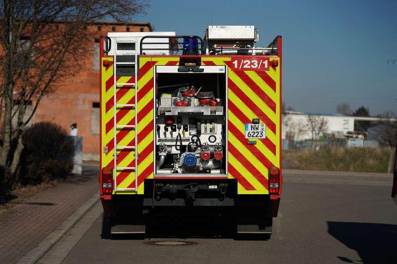 Neustadt Fahrzeugbrand (Foto: Holger Knecht)