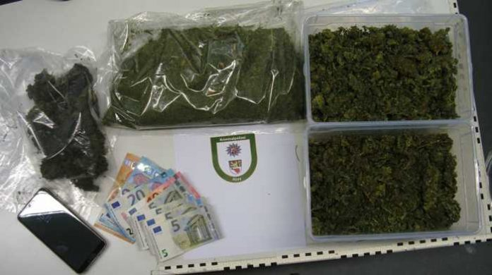 Drogenfund Polizeiinspektionen Alzey