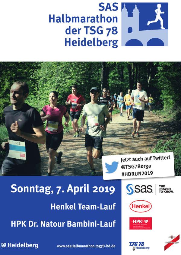 SAS Halbmarathon Heidelberg (Quelle: TSG 78 Heidelberg)