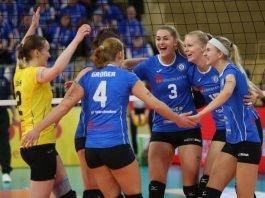 VC Wiesbaden will mit Emotionen gegen Vilsbiburg punkten (Foto: Detlef Gottwald)