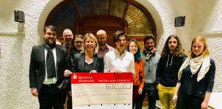 Spendenübergabe (Foto: Stadtverwaltung Neustadt an der Weinstraße)