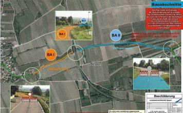 Es werden zwei Bauabschnitte eingerichtet (Quelle: LBM Speyer