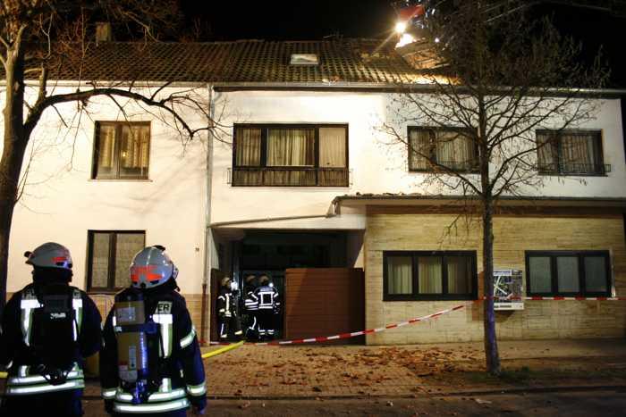 Wohnhausbrand in Speyer - Quelle: Feuerwehr Speyer