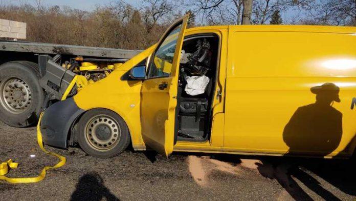 Schwerer Verkehrsunfall auf der A66 © Feuerwehr Wiesbaden