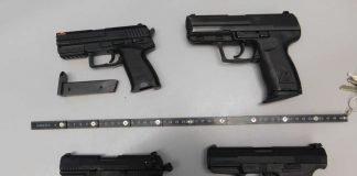 Spielzeugwaffen (Foto: Polizei BW)