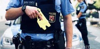 Symbolbild, Polizei, RLP, Taser, Distanz-Elektroimpulsgeraet-(DEIG) © Polizei RLP