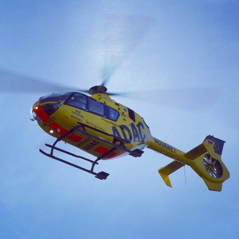 Symbolbild, Rettung, Hubschrauber, Christoph 5 (Foto: Holger Knecht)