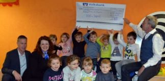 Voba_Spendenübergabe_Kita Heltersberg