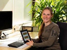 Das Team um Dr. Corinna Faust-Christmann hat die Stress-App entwickelt. Foto: AG wearHEALTH